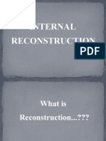 Presentation on internal reconstruction