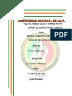 Facultad Juridica Social y Administrativa Carrera de Administracion Turistica