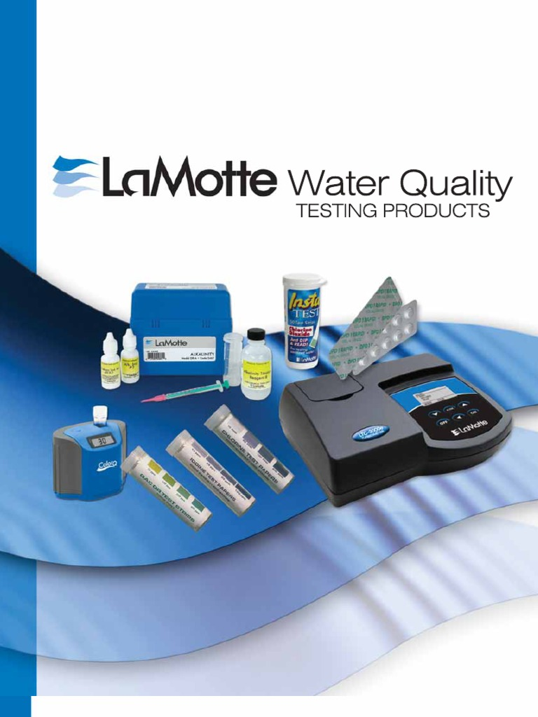 2010 lamotte water quality testing products catalog. Black Bedroom Furniture Sets. Home Design Ideas