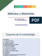 Sesion 8 Metodos y Materiales