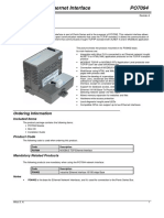 Po7094 (Modbus Tcp Ethernet Interface)