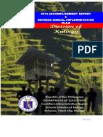 Accomplishment Report Final 2014