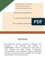 Clase Aditivos Xi-18