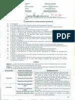 Calendrier Des Concours d Entrée Dans Le Étalblissements Des Universités d État Du Cameroun Au