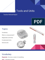 Measuring Tools and Units