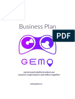 Business Plan GEMO 1.0