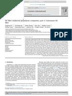 SiC Fiber Reinforced Geopolymer Composites, Part 2 Continuous SiC