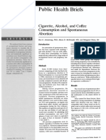 Cigarette, Alcohol, And Coffee