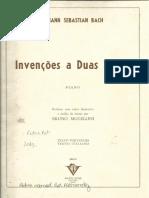 Invenções a 2 Vozes (Versão Didática)