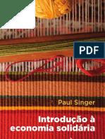 Introdução à Economia Solidaria Paul Singer 2002