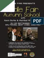 Autumn School Poster
