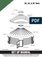 Set Up Manual 20-24-30 Yurts