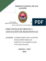 Grupo a. Tema Circuitos Eléctricos de Brayan 3 y 4