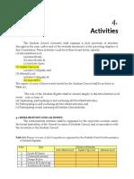 Student Activity Framework