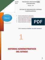 Sesiones de Clase de Sistema de Informacion Contable Gubernamental
