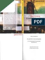 Ginzburg, C., El Queso y Los Gusanos (Editorial Península)