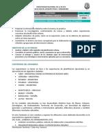 Seminario 1 - Intervenciones Urbanas. Ppp- 2018