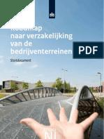 Roadmap Naar Verzakelijking Van de Bedrijventerreinenmarkt