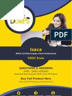 Most Important Isaca CRISC Exam Questions PDF