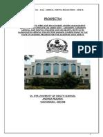 Prospectus Regulations