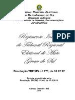 Regimento Interno Tre Ms