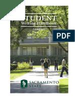 Csus Writing Handbook