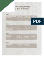 IELTS Reading Recent Actual Test 2007-2011