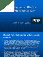 Ciri Umum Risalah Muhammad