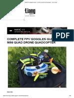 Complete FPV Goggles Guide - For Mini Quad Drone Quadcopter - Oscar Liang