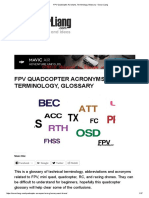 FPV Quadcopter Acronyms, Terminology, Glossary - Oscar Liang