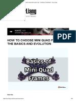 How to choose Mini Quad Frame - The Basics and Evolution - Oscar Liang.pdf