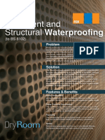 Basement and Structural Waterproofing PDF