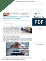 Expulsar Dispositivos de Una Red WiFi Sin Cambiar Contraseña