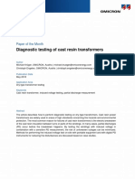 CPC 100 MPD 600 Article Diagnostic Testing of Cast Resin Transformers 2018 ENU