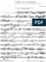 Eugène Bozza Allegro Et Finale-tuba