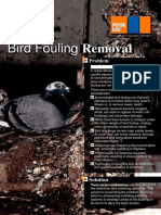 Bird Fouling Removal - PDF