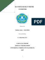 Cover Laporan Pengukuran Teknik ABAY