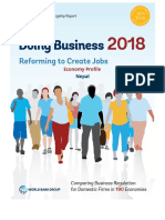 Doing Business Nepal 2018, World Bank
