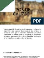 TIPOS CALIZA