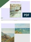La palette de Claude Monet