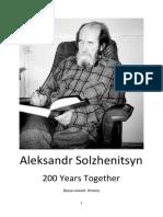 Solzhenitsyn-200 Years Together.pdf