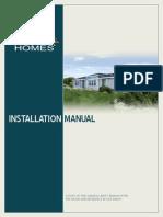 Cavco Homes HUD Installation Manual