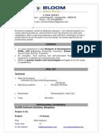 RAM REDDY_Web Designer_BLOOM Solutions