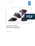 Cosmetics Palette Manufacture Report