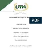Tarea Control de Calidad Juan Denica IP
