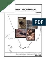 Sedimentation Manual Second Edition Los Angeles