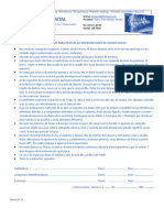Instrucciones Para Después de Intervenciones de Cirugía Bucal
