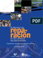 Derecho a La Reparacion en Conflictos Socioambientales