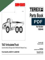 Ta27_8251 Parts Manual Terex