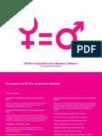 III Plan de Igualdad de Peligros